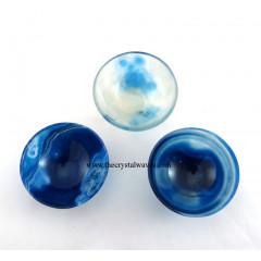 """2"""" Blue Onyx Bowl"""