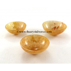 "Yellow Aventurine  2 "" Bowl"