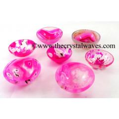 "2 "" Pink Onyx Bowl"