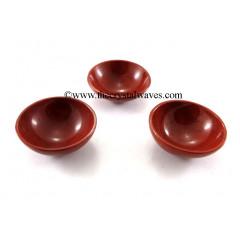 "Red Jasper  3"" Bowl"
