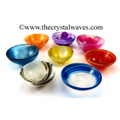 "Mix Assorted Onyx 3"" Bowls"