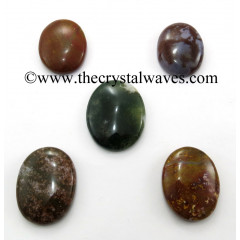 Fancy Jasper Oval Cabochon
