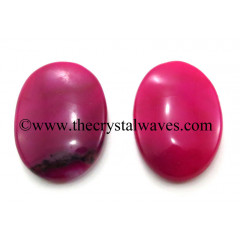 Pink Chalcedony Oval Cabochon