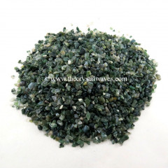 Moss Agate Undrilled Chips