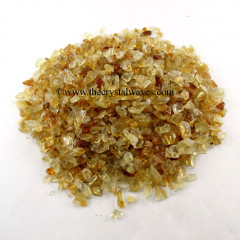 Citrine Undrilled Chips