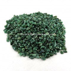 Green Aventurine ( Dark ) Undrilled Chips