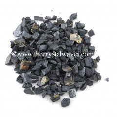 Black Tourmaline Raw Undrilled Chips
