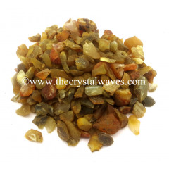 Yellow Carnelian Agate Raw Undrilled Chips