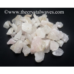 Rose Quartz Raw Undrilled Chips