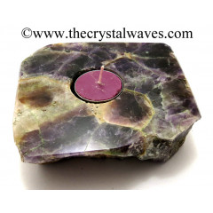 Amethyst Flat Tea Light Holder