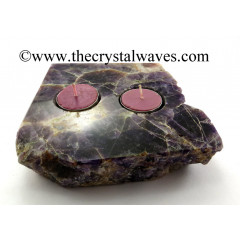 Amethyst Flat Multi Tea Light Holder