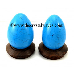 Turquoise W/Black Matrix (Manmade) Eggs