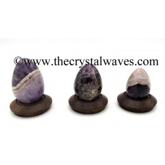 Chevron Amethyst Eggs