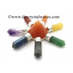 Red Aventurine Conical Pyramid Chakra Pencil Generator