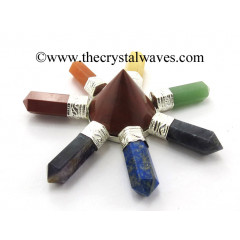 Red Jasper Conical Pyramid Chakra Pencil Generator