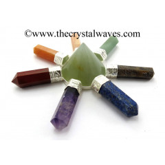 Green Aventurine Conical Pyramid Chakra Pencil Generator