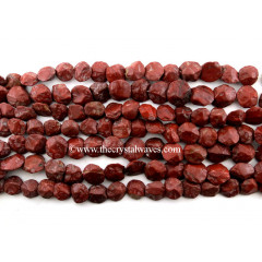 Red Jasper  Hand Knapped Coin Nuggets