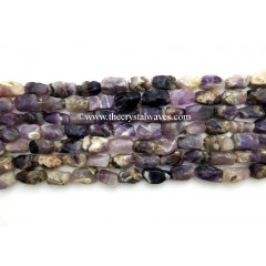 Amethyst Hand Knapped Rectangle Nuggets