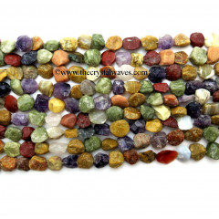Multi-Color Hand Knapped Coin Nuggets