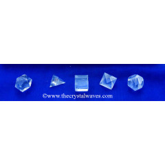 Crystal Quartz 5 Pc Geometry Set