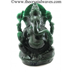 Exclusive Green Aventurine Hand Carved Ganesh