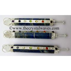 Lapis Lazuli Chakra Healing Stick With Merkaba
