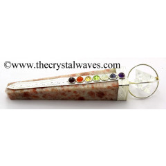Sunstone Tower Chakra Healing Stick With Merkaba