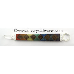 Orgone Chakra Bonded Healing Stick With SOD