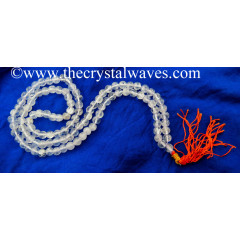 Crystal Quartz B Grade 7 - 9 mm Jap Mala
