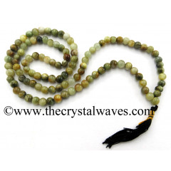 Green Cat's Eye Jap Mala