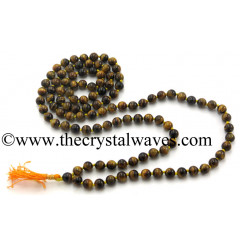 Tiger Eye Agate Knotted Jap Mala