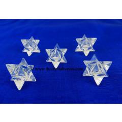 Crystal Quartz A Grade Merkaba / Star