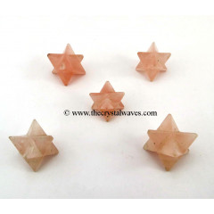 Rose Quartz Merkaba / Star
