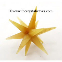 Yellow Aventurine 12 Point Merkaba Star