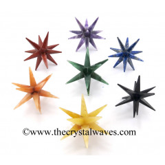 12 Point Merkaba Star Chakra Set