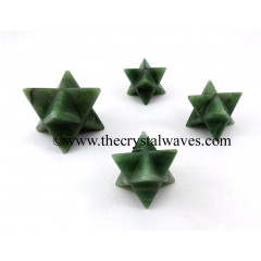 Green Aventurine (Dark) Big Merkaba Star