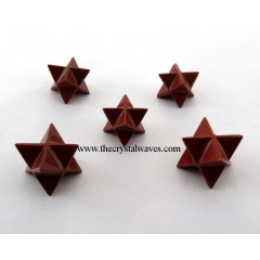 Red Jasper Big Merkaba Star