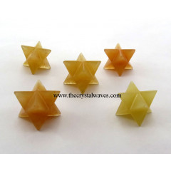 Yellow Aventurine Big Merkaba Star