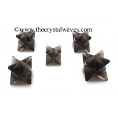 Smoky Obsidian Merkaba Star