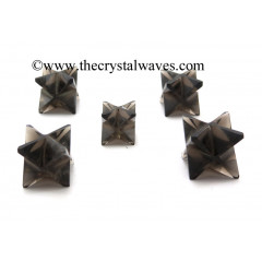 Smoky Obsidian Big Merkaba Star