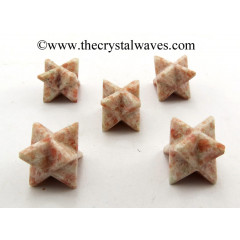 Sunstone Big Merkaba Star
