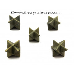 Pyrite Big Merkaba Star