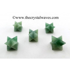 Green Aventurine (Light) Big Merkaba Star