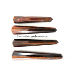 Red Tiger Eye Agate Massage Wands