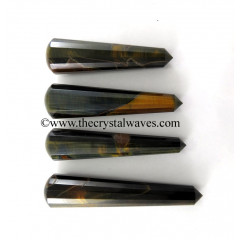 Blue Tiger Eye Agate Massage Wands