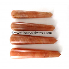 Peach Moonstone Massage Wands