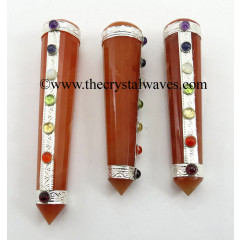 Red Aventurine Chakra Massage Wands