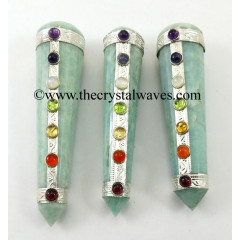 Amazonite Chakra Massage Wands