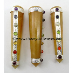 Yellow Aventurine Chakra Massage Wands