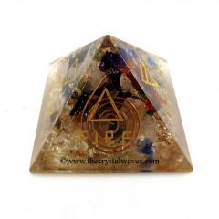 5 Elements Chakra Orgone Pyramids